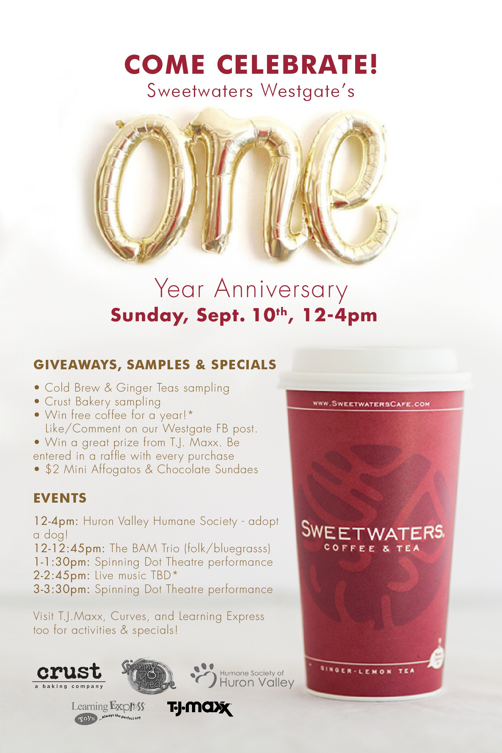 Sweetwaters Westage Anniversary Event